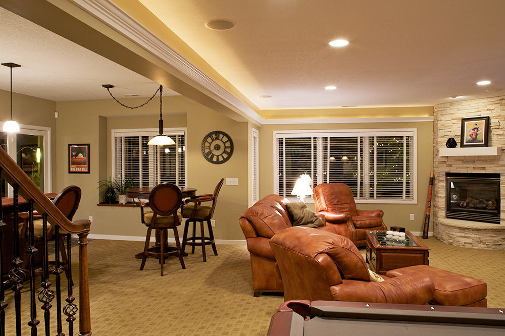 View more examples of lower-level remodel projects