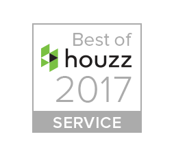 Best of Houzz service award, 2017